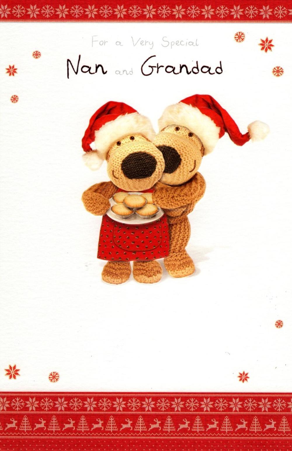 Boofle Nan & Grandad Christmas Greeting Card