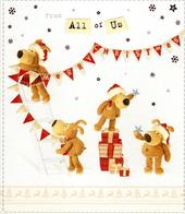 Boofle From All Of Us Christmas Greeting Card