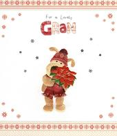 Boofle Lovely Gran Christmas Greeting Card