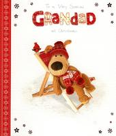 Boofle Special Grandad Christmas Greeting Card