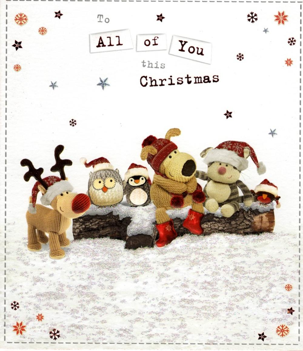 Boofle To All Of You Christmas Greeting Card