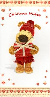 Boofle Christmas Wishes Greeting Card