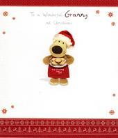 Boofle Wonderful Granny Christmas Greeting Card