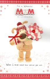 Boofle Wonderful Mum Christmas Greeting Card