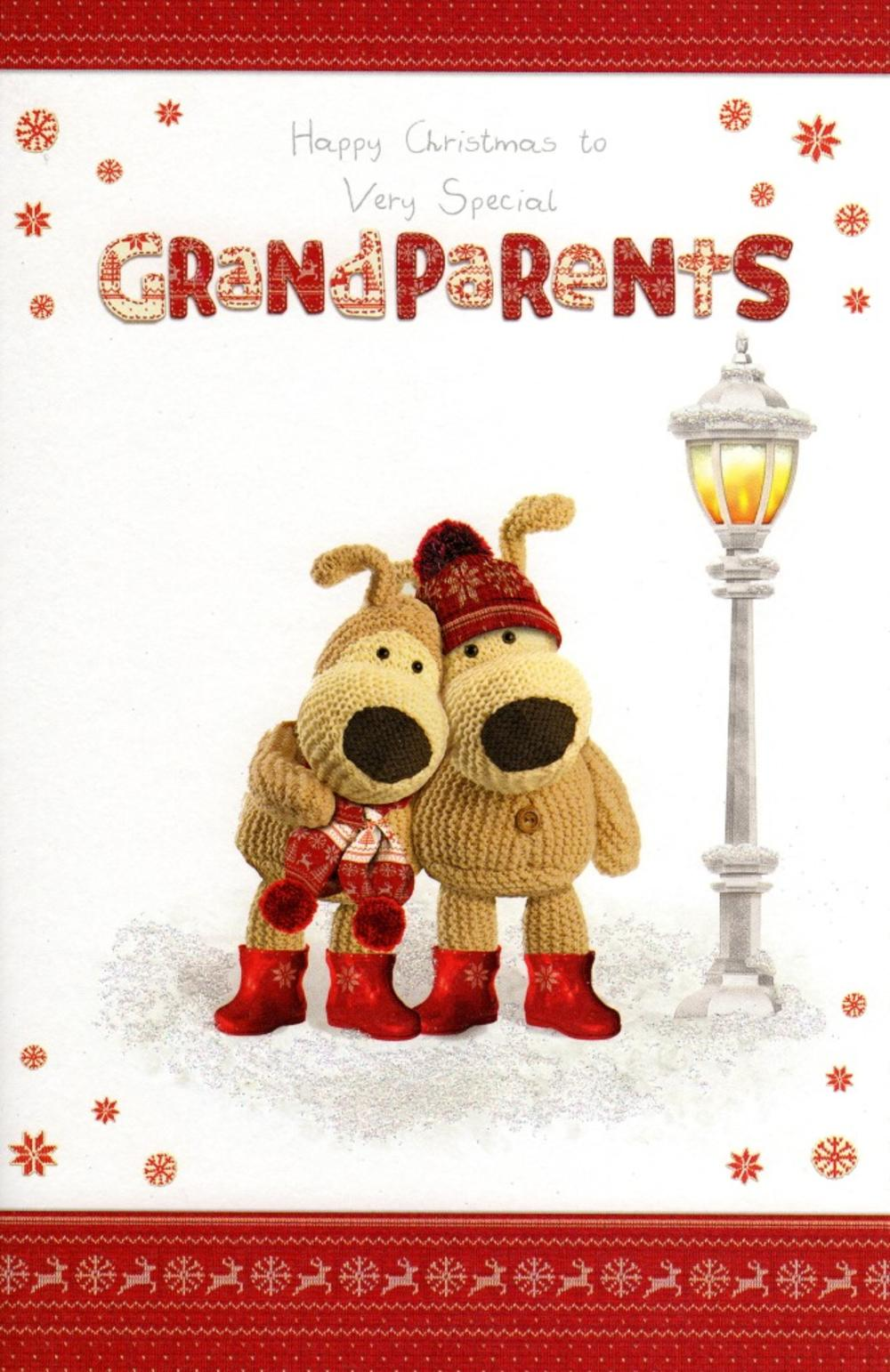 Boofle Special Grandparents Christmas Greeting Card