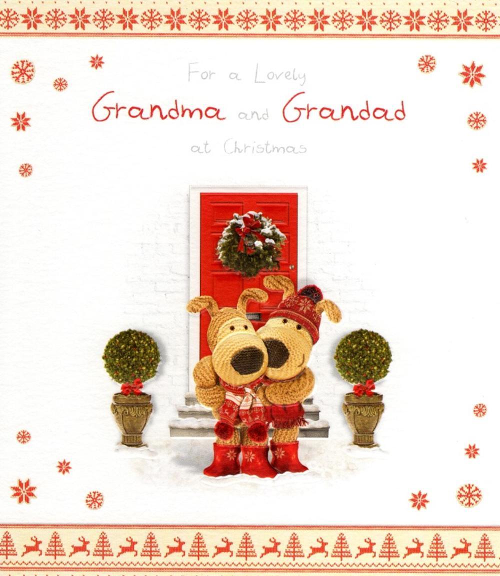 Boofle Grandma & Grandad Christmas Greeting Card