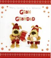 Boofle Gran & Grandad Christmas Greeting Card