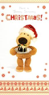 Boofle Yummy Scrummy Christmas Greeting Card