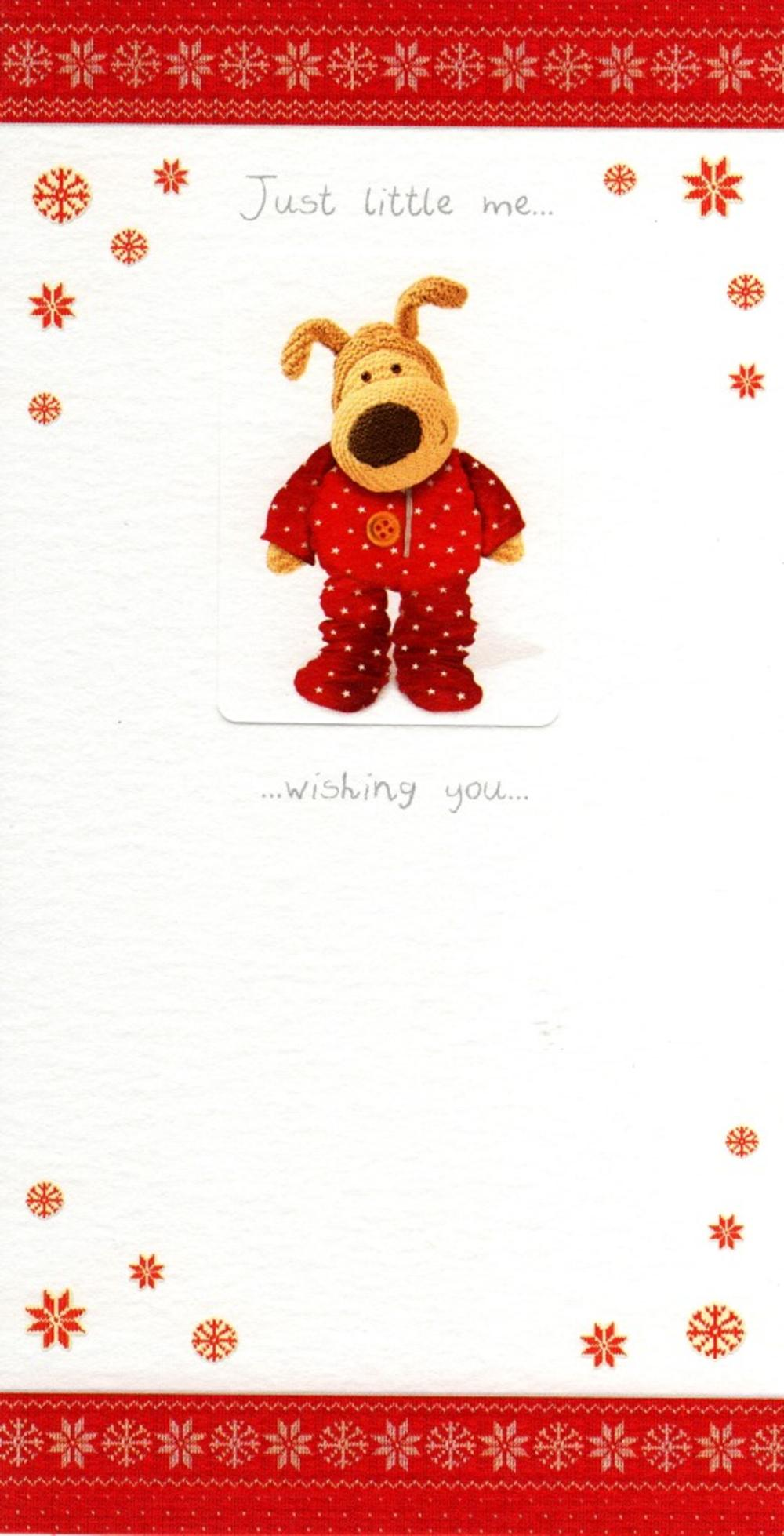 Boofle Merry Little Christmas Greeting Card