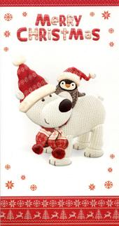 Boofle Merry Christmas Greeting Card
