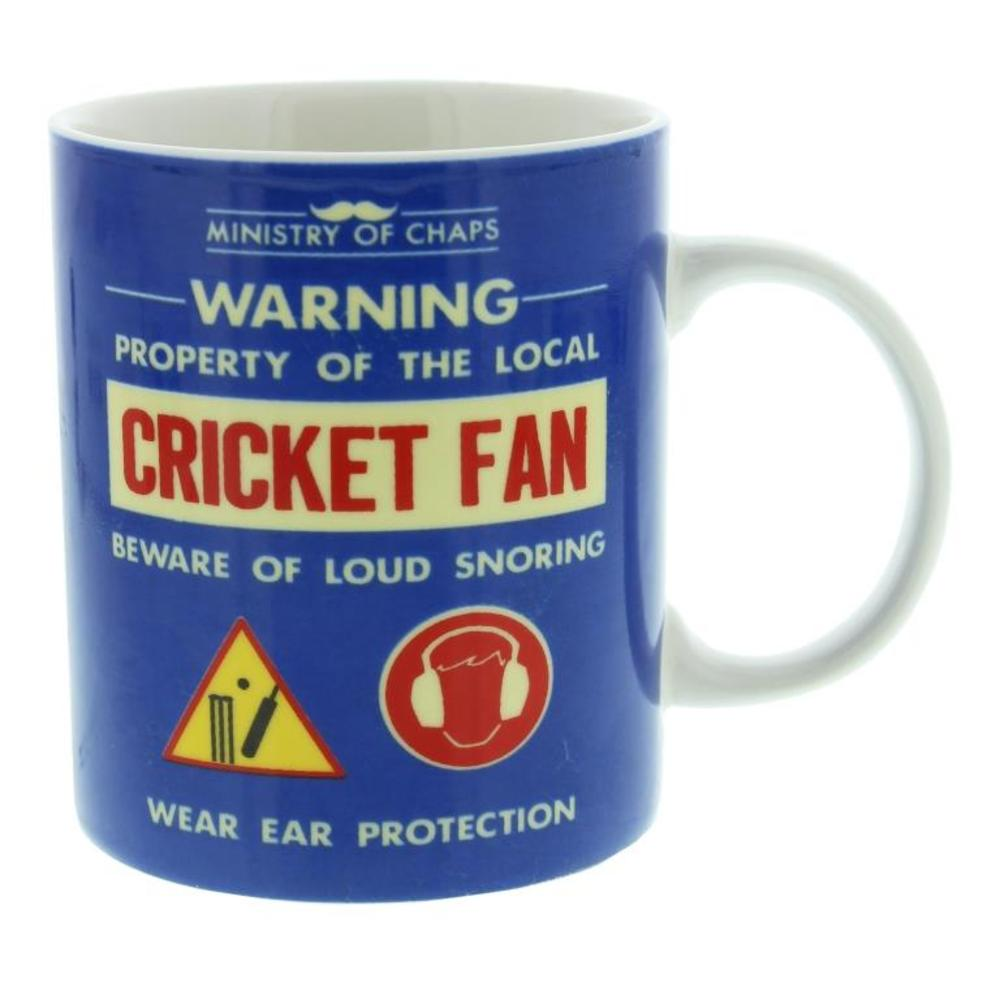 Ministry Of Chaps Cricket Fan Mug In Gift Box