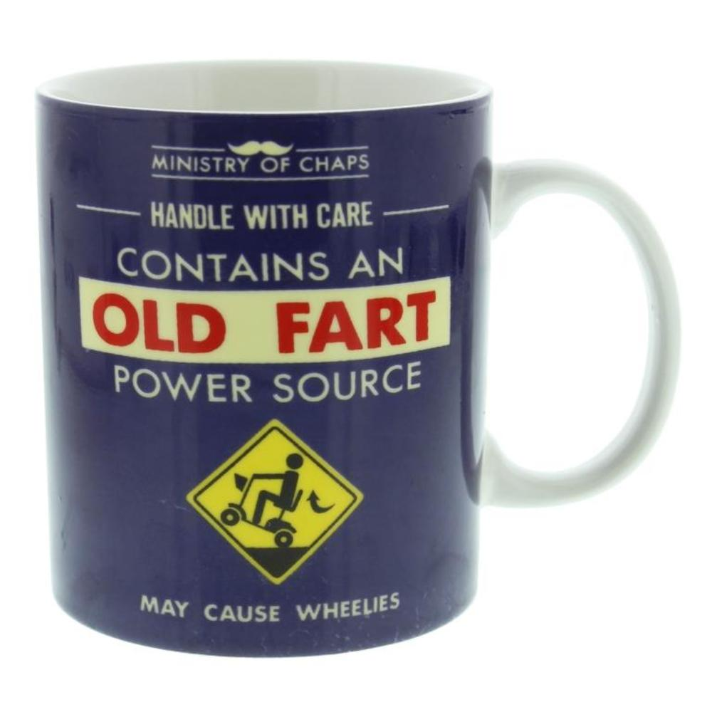 Ministry Of Chaps Old Fart Mug In Gift Box