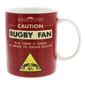 Ministry Of Chaps Rugby Fan Mug In Gift Box