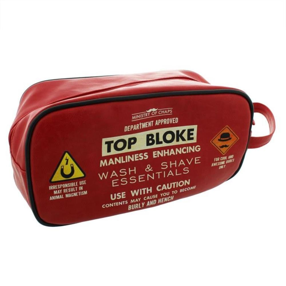 Ministry Of Chaps Top Boke Toiletry Wash Bag
