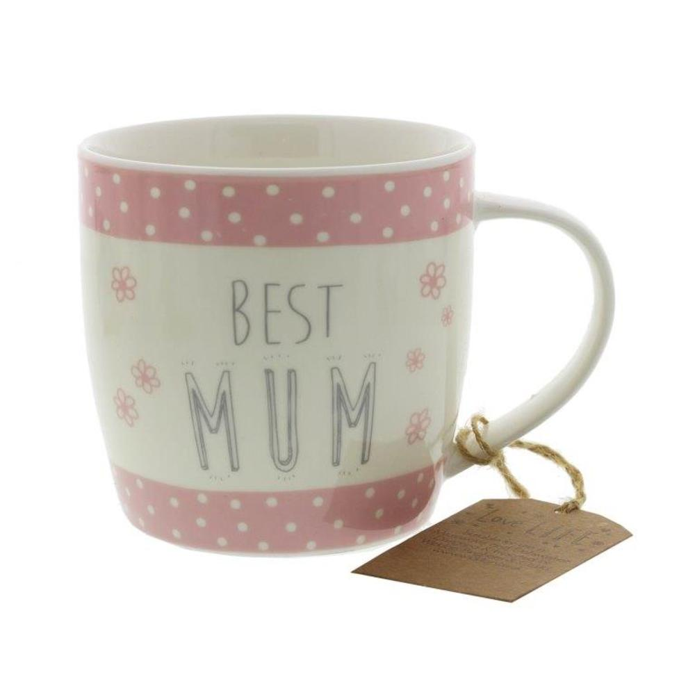 Best Mum Ceramic Mug Gift Idea