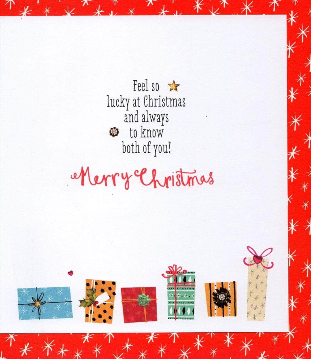 Friends Like You Best Presents Ever Christmas Card Cards