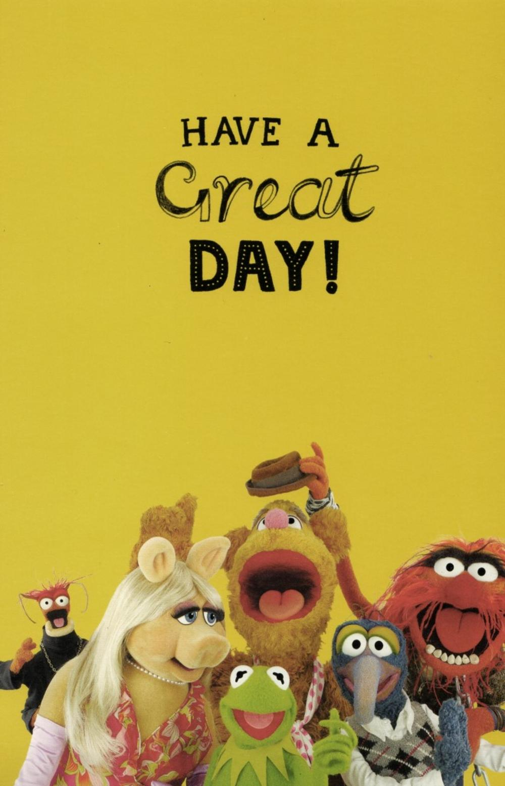 The Muppets Time To Party Birthday Card Cards – Muppet Birthday Card