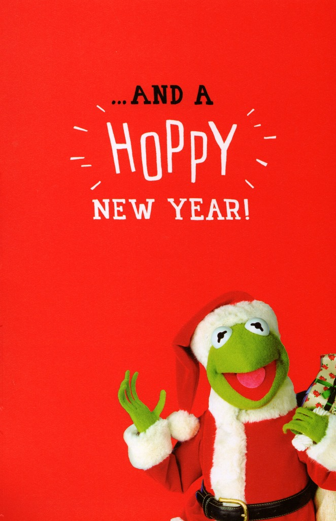 Kermit The Frog Husband Christmas Card Disney Muppets Greeting Cards ...