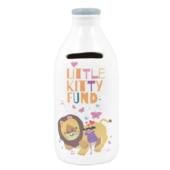 Little Kitty Fund Childrens Milk Bottle Bank