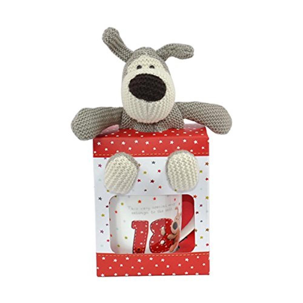 Boofle 18th Birthday Mug & Plush In A Gift Box