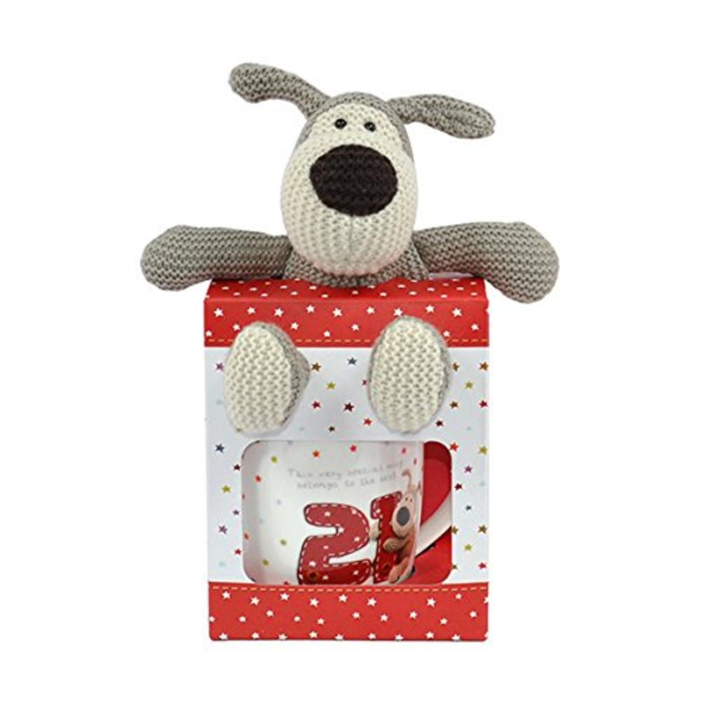 Boofle 21st Birthday Mug Plush In A Gift Box