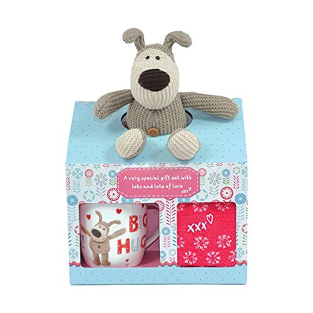 Boofle Big Hugs Mug, Plush & Slipper Socks In A Gift Box