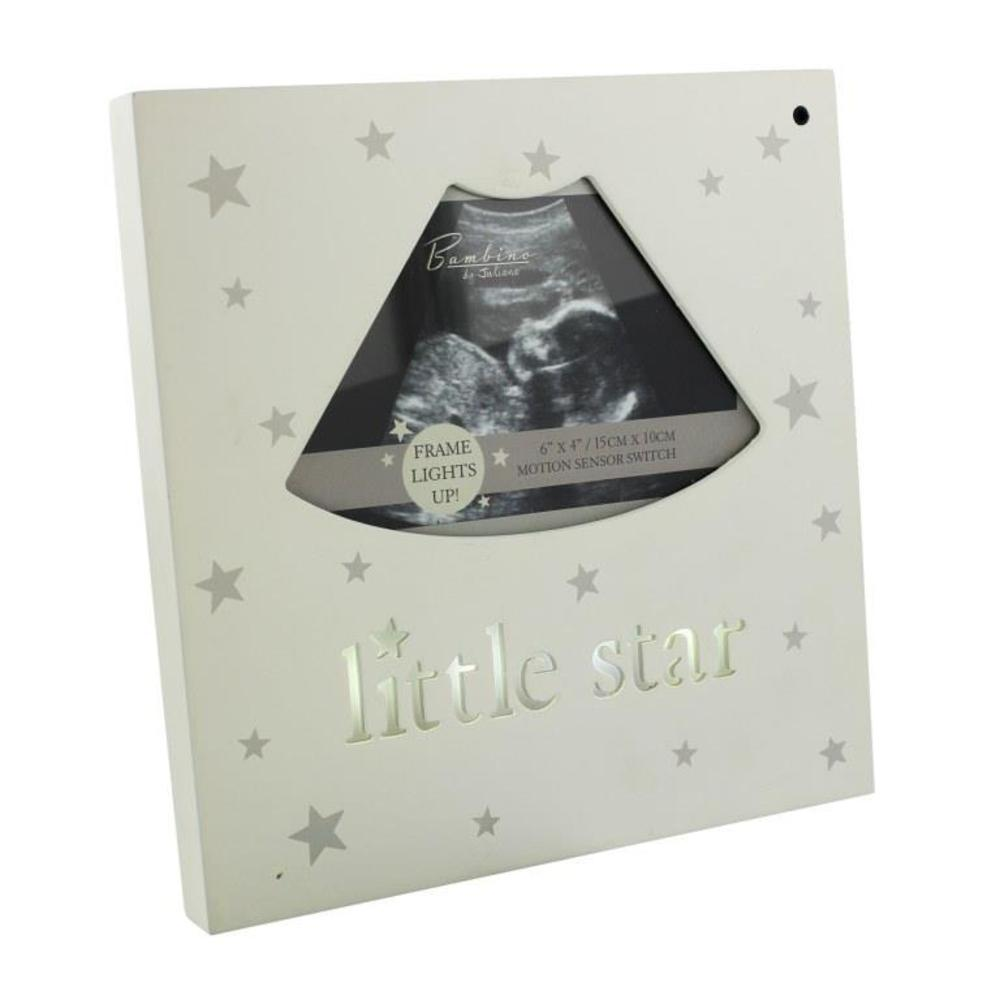 Little Star Light Up Baby Scan Photo Frame Gifts