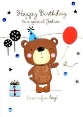 Special Godson Handmade Birthday Greeting Card