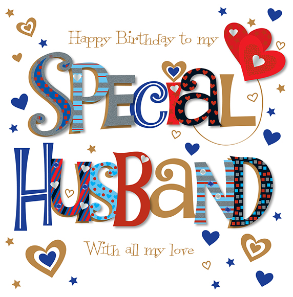 Special Husband Happy Birthday Greeting Card Cards – Birthday Greeting Cards for Husband