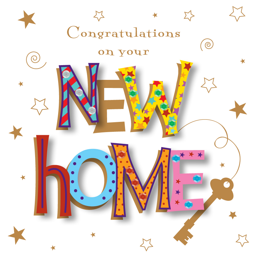 Handmade Congratulations On Your New Home Greeting Card Cards