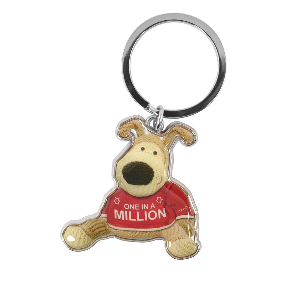 Boofle One In A Million Metallic Keyring