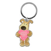 Boofle Loveliest Mummy Ever Keyring