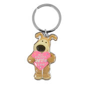 Boofle Most Amazing Wife Ever Metallic Keyring