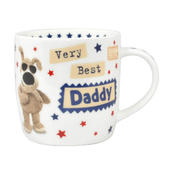 Boofle Best Daddy China Mug In Gift Box