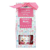 Boofle Lovely Mum Mug & Socks Gift Set