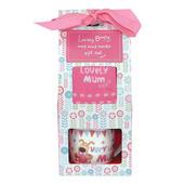Boofle Lovely Mum Mug & Socks Gift Set