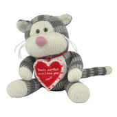 Boofle Puddy Cat You're Purrfect I Love You Plush Toy