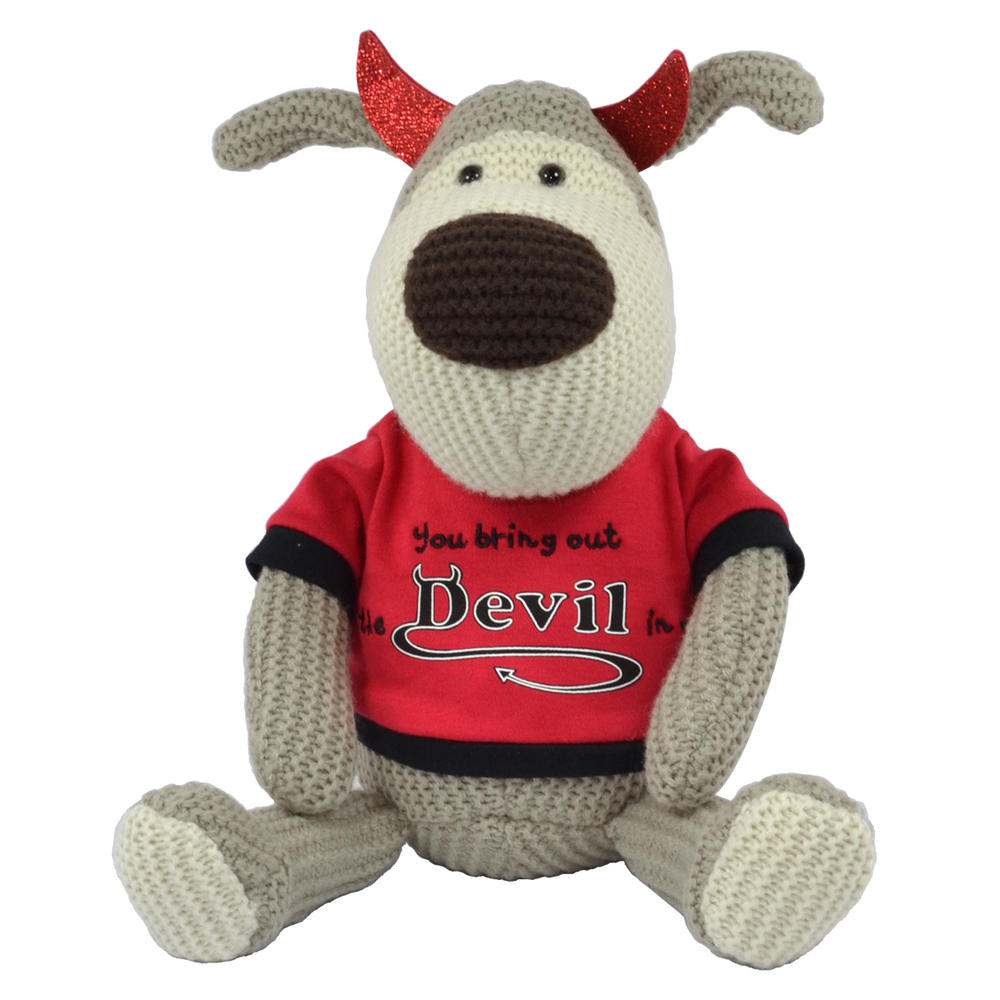 "Boofle You Bring Out The Devil In Me Valentine's Day 10""  Plush"