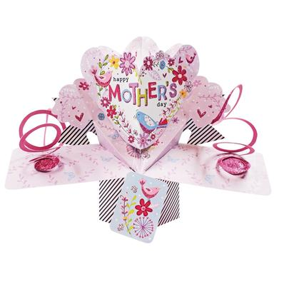 Happy Mother's Day Pretty Pop-Up Greeting Card