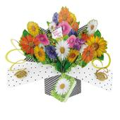 Happy Mother's Day Pop-Up Flowers Greeting Card