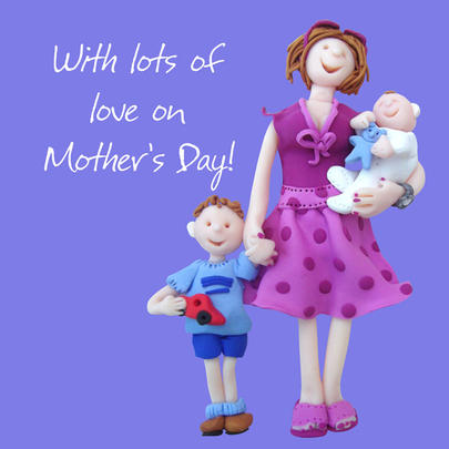 Lot's Of Love On Mother's Day Greeting Card