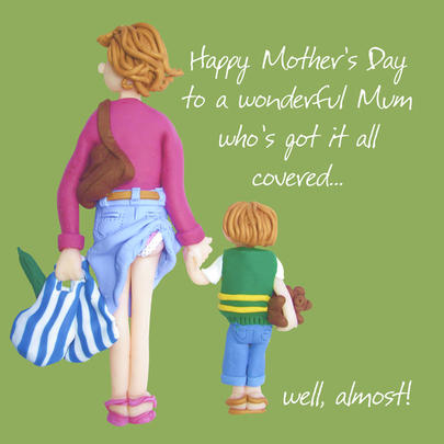 Happy Mother's Day Humour Greeting Card