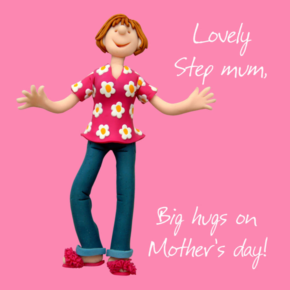 Lovely Step Mum Mother's Day Greeting Card