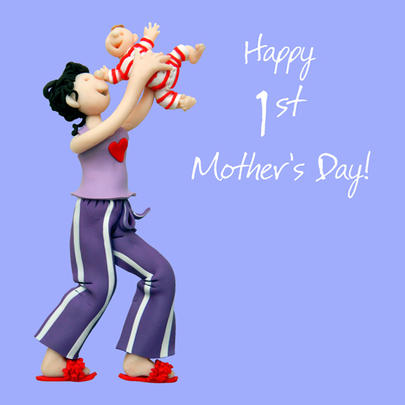 Happy 1st Mother's Day Greeting Card