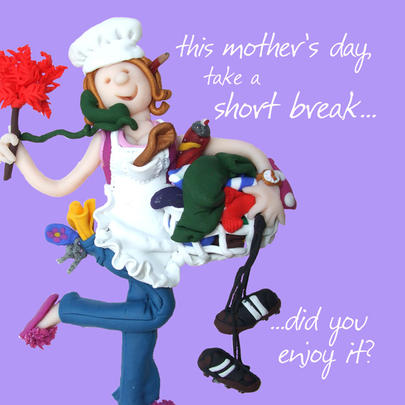 Take A Break Mother's Day Greeting Card
