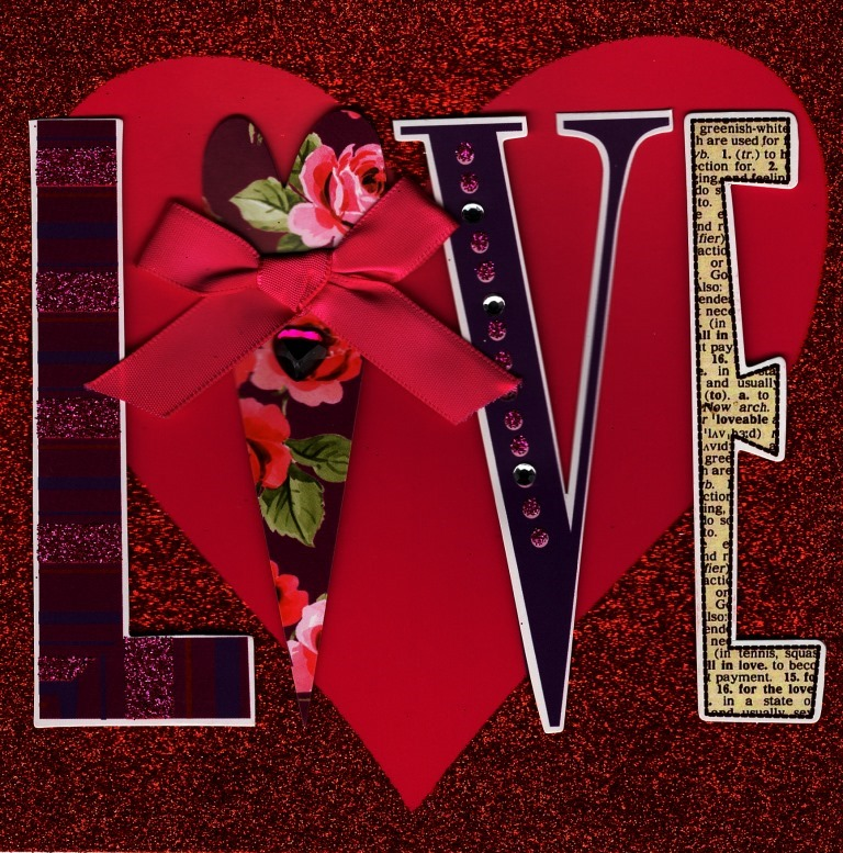 Beautiful Square Love Valentine S Day Greeting Card Cards