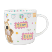 Boofle Time For A Cuppa China Mug In Gift Box