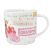 Boofle Loveliest Grandma China Mug In Gift Box
