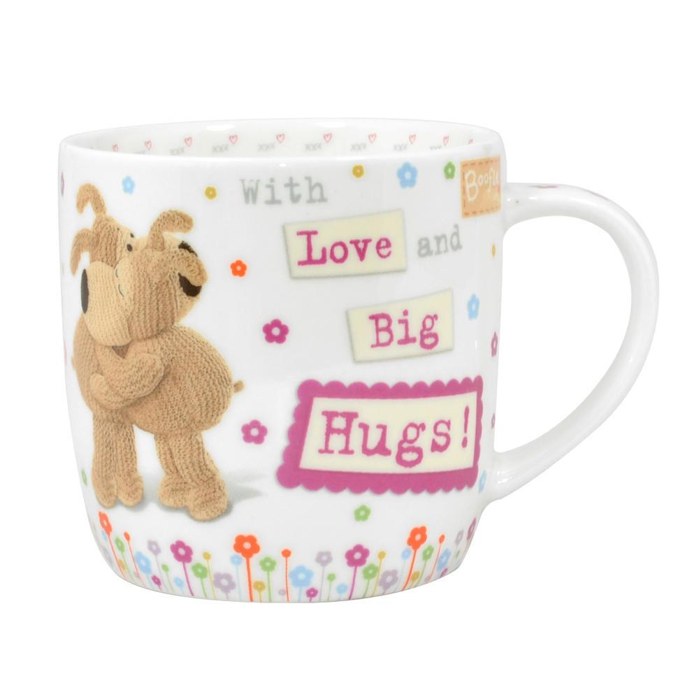 Boofle Love & Big Hugs China Mug In Gift Box