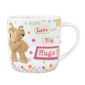 Boofle Love & Big Hugs China Mug In Gift Box